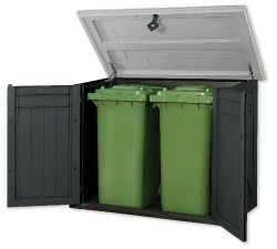 kunststoff-mülltonnenbox